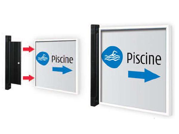 Signalisation pour bureau plaques pour indications bureaux usines